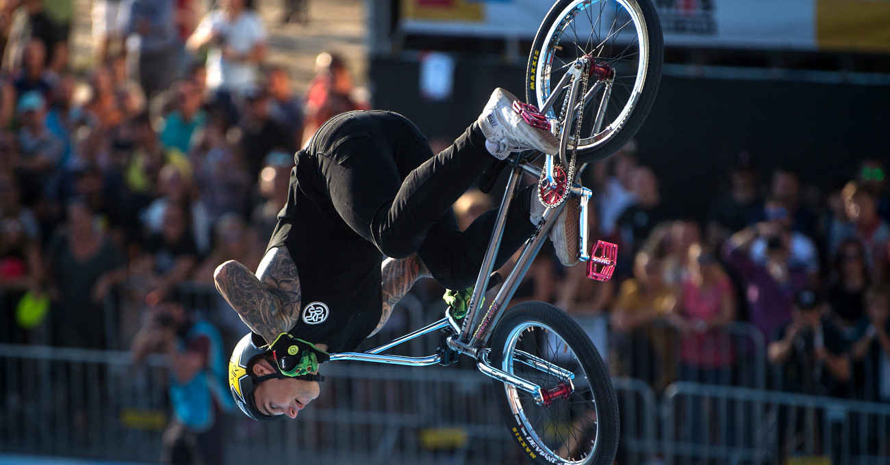 World Urban Games 2019 - Marin Ranates, BMX freestyle